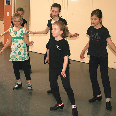 Children's Tap Classwork / Song & Dance